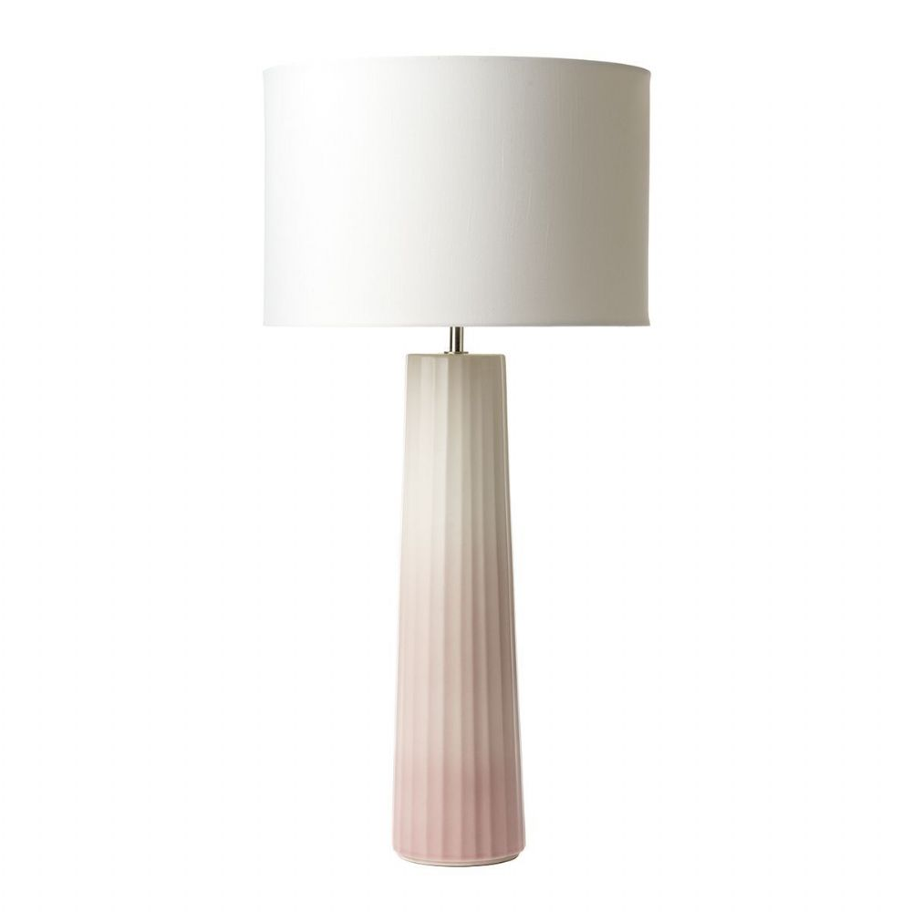 Abilo Table Lamp Pink/Cream Ceramic Base Only